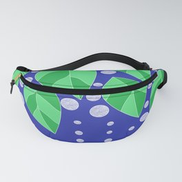dots leaves Fanny Pack