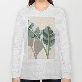 Banana Leaves Long Sleeve T-shirt