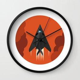 F-117 Nighthawk Wall Clock