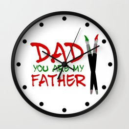 Fathers Day Wall Clock