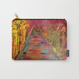 Queen Palm Carry-All Pouch
