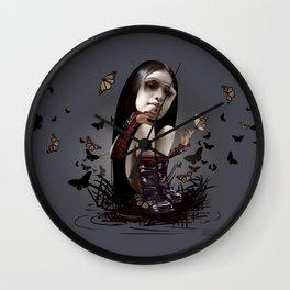 Surreal doll 1 Wall Clock