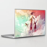 fly Laptop & iPad Skins featuring FLY by Javier G. Pacheco