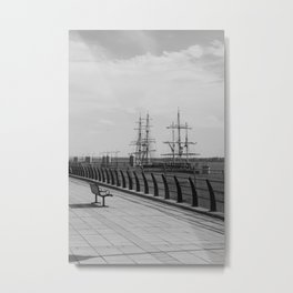 Lost in the Harbour. Metal Print