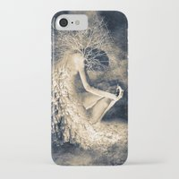 introvert iPhone & iPod Cases featuring introvert. by Viviana Gonzalez