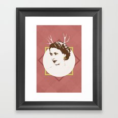 Elizabeth II : The Bold Framed Art Print
