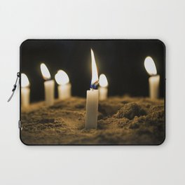 Candle in the Wind Laptop Sleeve