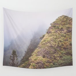 Foggy Hills Wall Tapestry