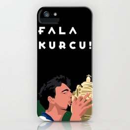 Goran Ivanisevic - Wimbledon trophy kiss iPhone Case