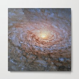 Galaxy Messier 63 Deep Field Telescopic Photograph Metal Print