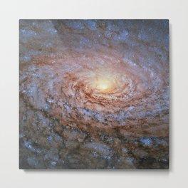 Galaxy Messier 63 Deep Field Telescopic Photograph Metal Print