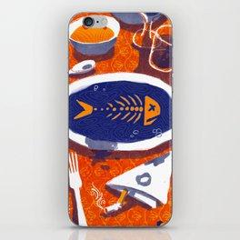 Fish Dinner iPhone Skin