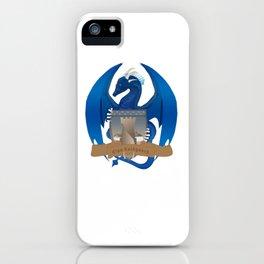 Clan Lochguard Blue Crest iPhone Case