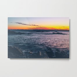 Sunrise Therapy Metal Print