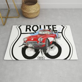 Route 66 USA Rug
