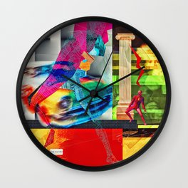 The Coloseum Wall Clock