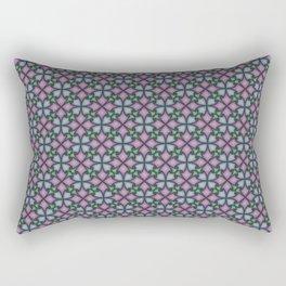 Interlocking Petals Rectangular Pillow