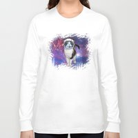 space cat Long Sleeve T-shirts featuring Space cat by S.Levis