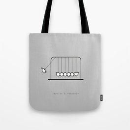 impulse response Tote Bag