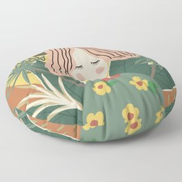 You Grow Girl Floor Pillow