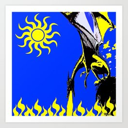 The Day of the Dragon Art Print