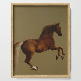 Whistlejacket by George Stubbs 1792 Serving Tray