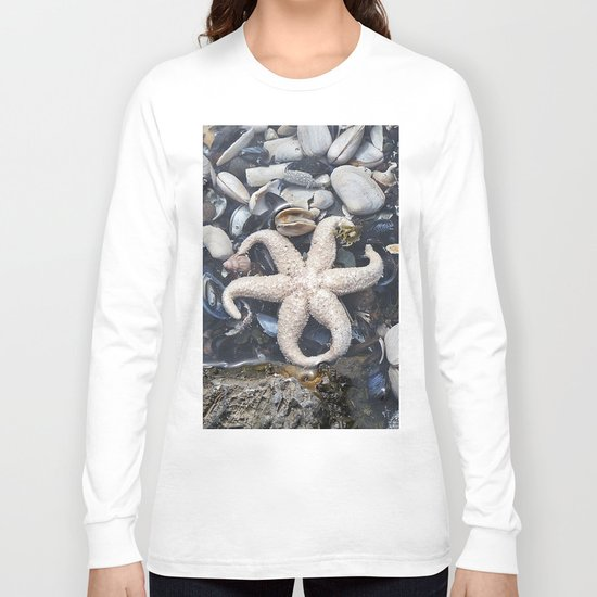 Starfish and Shells Long Sleeve T-shirt