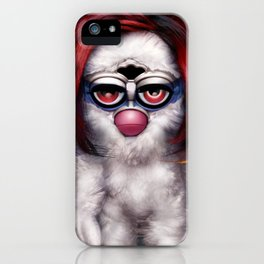 Furby Manson - Mechanical Animals iPhone Case