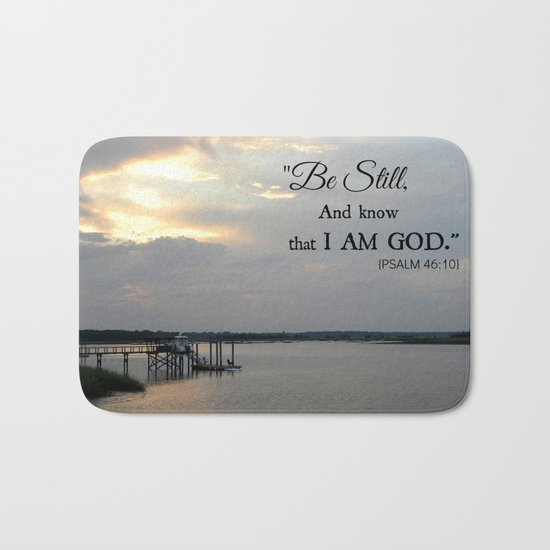 Hilton Head Island, Scripture Bath Mat