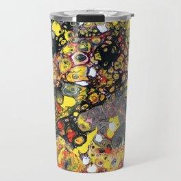 Flowering Tube Abstract Travel Mug