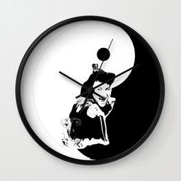 Dad..., you BAD ASS! ;) YINYANG version - LIFE CURRENT series... Wall Clock