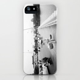 We've All Got To Be Going Somewhere iPhone Case