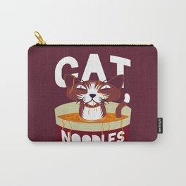 Cat Noodles Carry-All Pouch