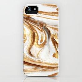 MARBLE CREAM iPhone Case