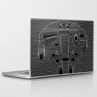 joy division Laptop & iPad Skins featuring Millenium division by BomDesignz