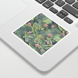 Palm Leaves Pattern 13 Sticker