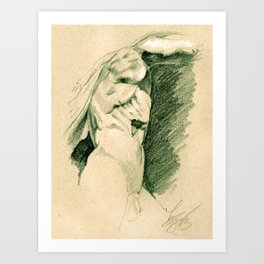 The Galatian Suicide Art Print