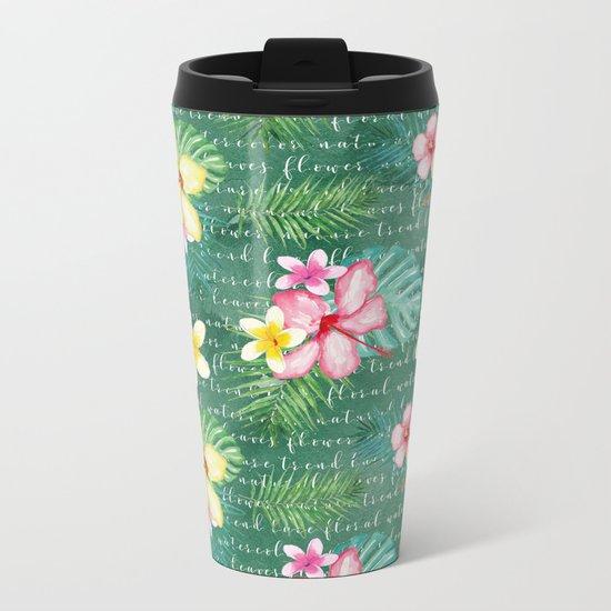 Summer flowers #2 Metal Travel Mug