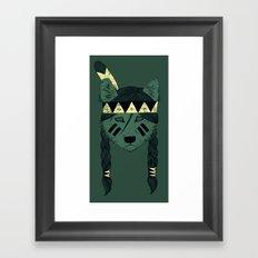 Green Skin Framed Art Print