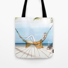 Chill, Relax, it's Summertime!! Tote Bag