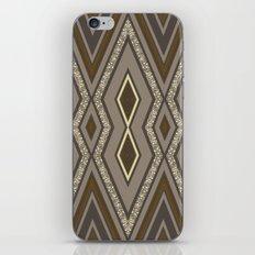 Geometric Rustic Glamour iPhone Skin