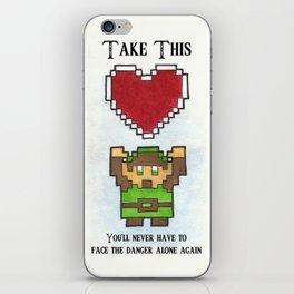 Take My Heart iPhone Skin