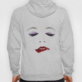 Sexy Woman's Face Hoody