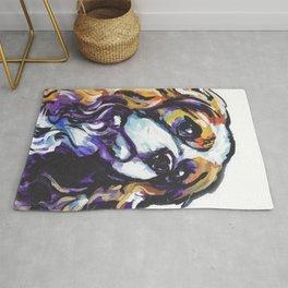Blenheim Cavalier King Charles Spaniel Dog Portrait Pop Art painting by Lea Rug