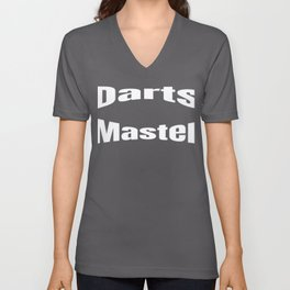 Fun Darts Master Design for Darts Players Unisex V-Neck