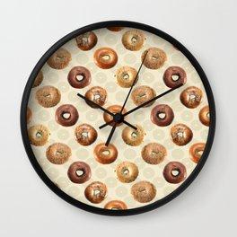 Bagels Wall Clock