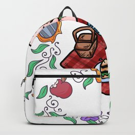 Cat picnic Fairy Tale Backpack