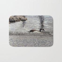 Landing Canadian Goose Bath Mat