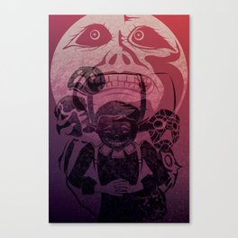 You've met with a terrible fate, haven't you? Canvas Print