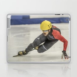 Charles Hamelin, Olympic Champion, Official Action Photo Laptop & iPad Skin